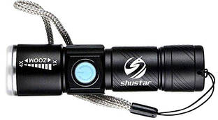Ліхтарик Shustar S-007-USB XR-E Q5