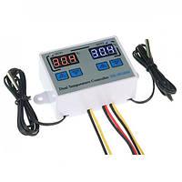Цифровой контроллер температуры XK-W1088 двойной AC110-220V 1500W