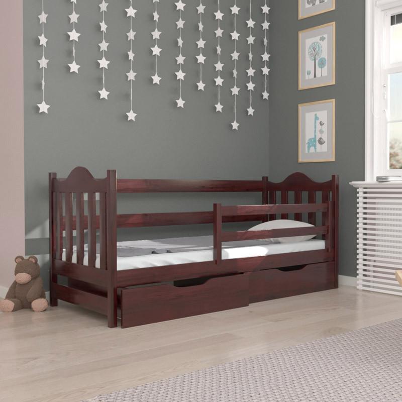 Кровать детская деревянная Аврора (массив бука)
