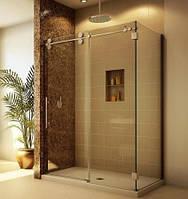 Стеклянные перегородки из закаленного стекла в душ Стеклянные двери для душа Душевая кабина Стеклянная ниша