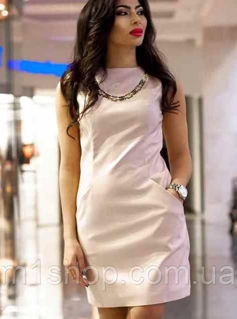 Розовое платье | Ирма lzn