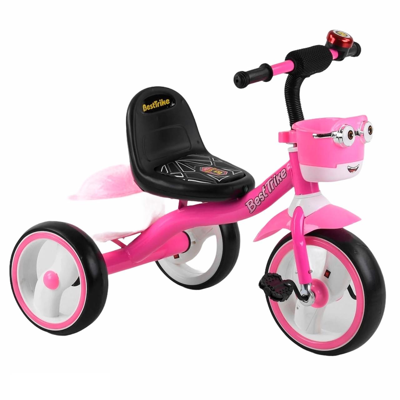 """Велосипед 3-х колісний 94881 """"Best Тгіке"""" (рожевий)"""