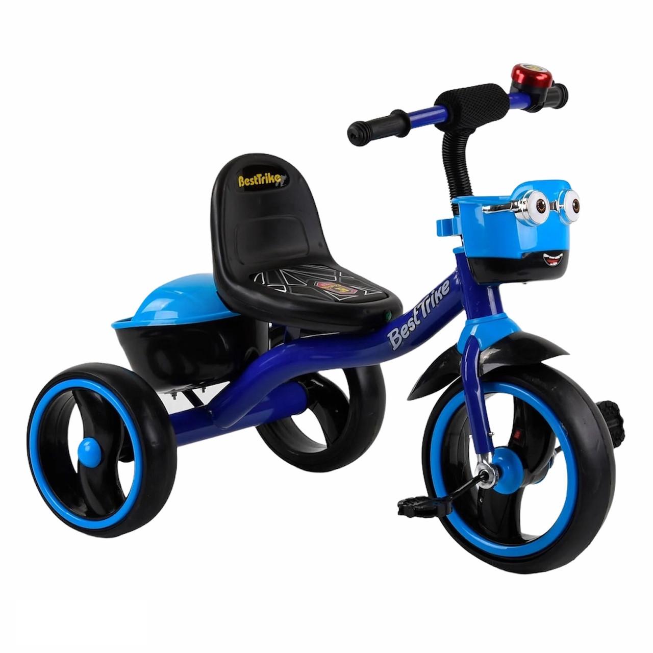 """Велосипед 3-х колісний 94881 """"Best Trike (синій)"""