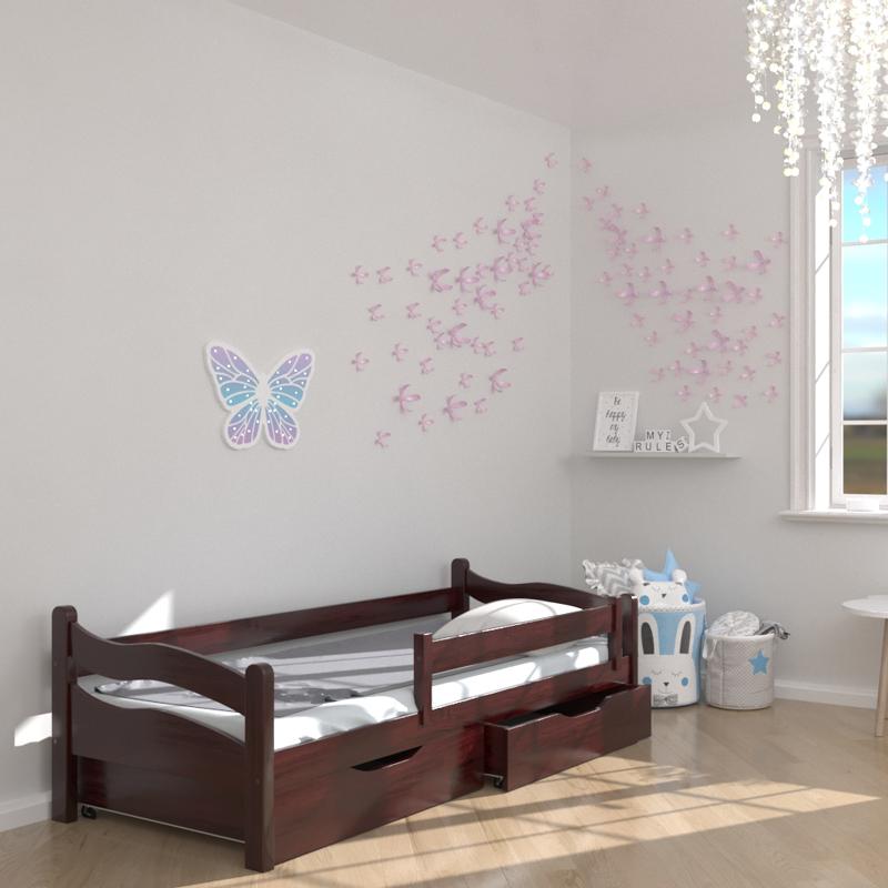 Ліжко дитяче дерев'яне Злата (масив бука)