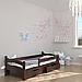 Ліжко дитяче дерев'яне Злата (масив бука), фото 3