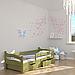 Ліжко дитяче дерев'яне Злата (масив бука), фото 5