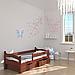 Ліжко дитяче дерев'яне Злата (масив бука), фото 4