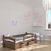Ліжко дитяче дерев'яне Злата (масив бука), фото 8