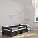 Ліжко дитяче дерев'яне Злата (масив бука), фото 6