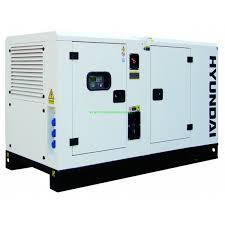 Електростанція дизельна 3-фазна Hyundai DHY45KSE + ATS