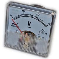 Вольтметр стрелочный SE-60 шкала 0-30V (05303)