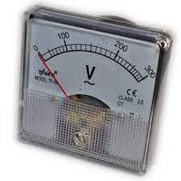 Вольтметр стрелочный TF-60 шкала ~0-300V (переменное напряжение) (05306)