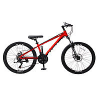 """Велосипед RoyalBaby MTB 1.0 24"""", OFFICIAL UA, красный"""