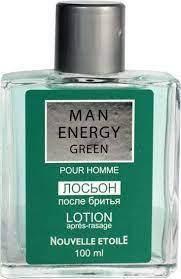 Лосьйон після гоління Нова Зоря Man Energy Green 100 мл (4603023066167)