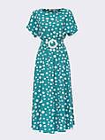Повсякденне плаття-міді в горох ЛІТО, фото 7