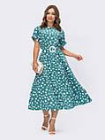 Повсякденне плаття-міді в горох ЛІТО, фото 5