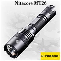 Мощный led фонарь Nitecore MT26, универсальное питание, 960 lm