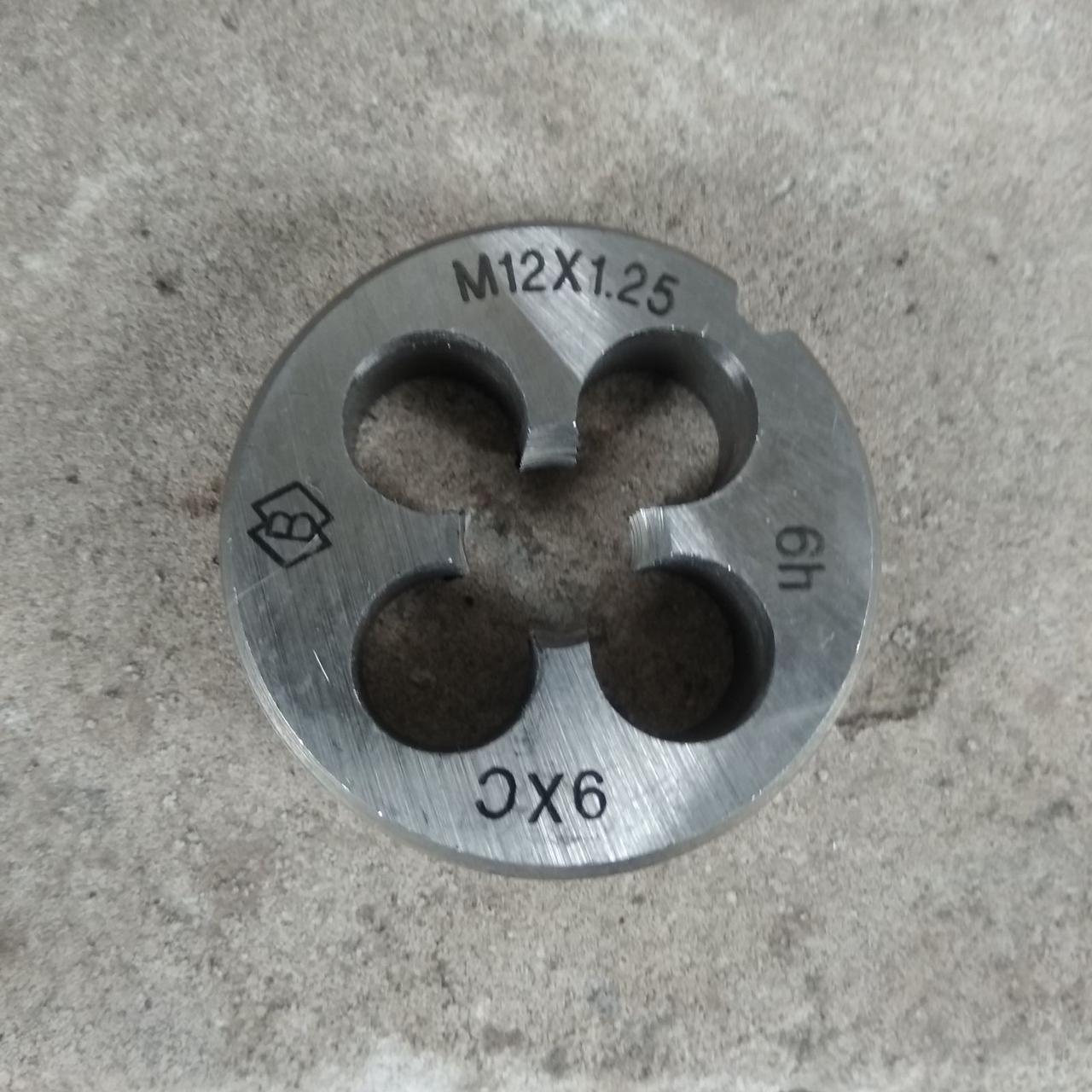 Плашка М11х1,25 для метричної різьби права Стандарт