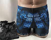 """Плавки купальні шортиками чоловічі з малюнком розміри 48-56 (2цв) """"ZIMALETTO"""" недорого від прямого постачальника"""