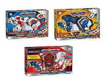 Интерактивная развивающая игрушка для мальчиков Робот трансформер 536-1 2 животных, 1 магический куб TOP