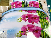 Постельное белье двуспальное Лилия HD - орхидея