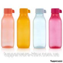 Набор Эко-бутылок (500 мл), 4 шт. квадратные с винтовой крышкой Tupperware