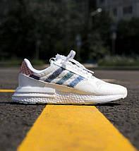 Чоловічі-жіночі кросівки Adidas ZX 500 RM, кросівки адідас х 500, фото 2
