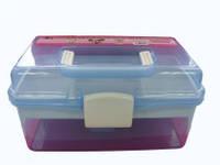 Контейнер пластиковый для мастера 26*16,5*14см средний YRE