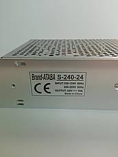 Блок питания Ataba  24V 10А (S-240-24), фото 2