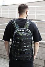 Рюкзак Fazan цвет Комбинированный зеленый