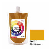 Гуашева фарба Вохра натуральна 200 мл ROSA Studio