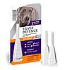 Капли на холку от блох, клещей и комаров для собак весом 30-40кг Silver Defence