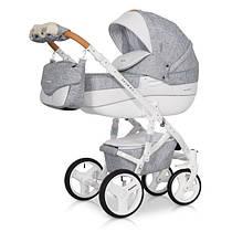 Riko Brano luxe коляска 2 в 1, цвет Grey Fox