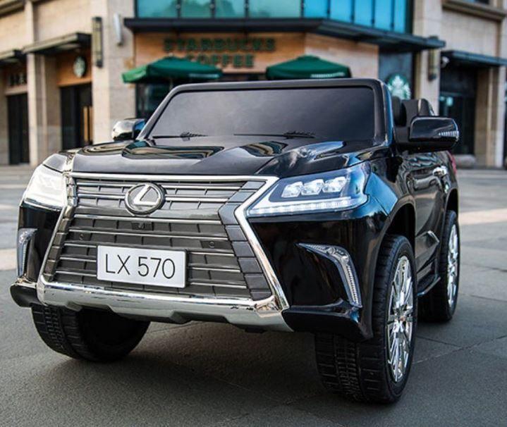 Двухместный электромобиль Lexus LX-570, цвет черный