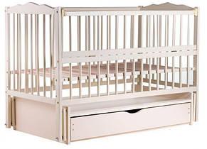 """Детская кроватка Babyroom """"Радуга"""" DVMYO-3, цвет слоновая кость"""