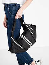 СПОРТИВНА сумка жіноча чорна з поліестеру, фото 2
