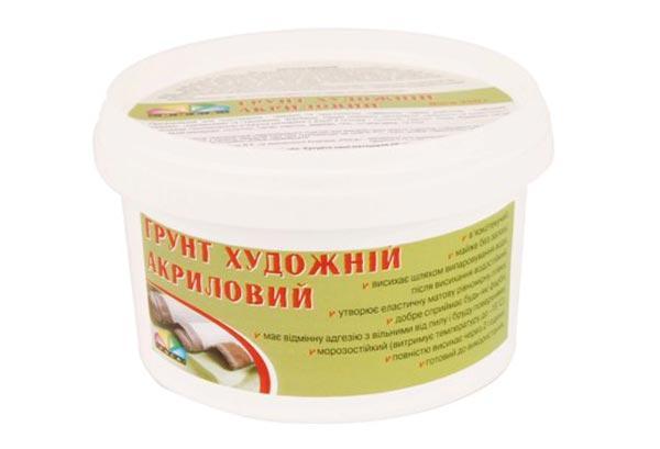 Грунт Акриловий для художників, 280мл. (350г) РОСА