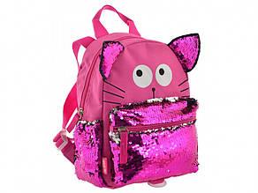 Рюкзак дошкільний Yes Funny Cat 1 відділення, 3 кишені K-19/556535
