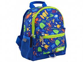 Рюкзак дошкільний 1 Bересня Monsters 1 відділення, 1 кишеня K-16/556579