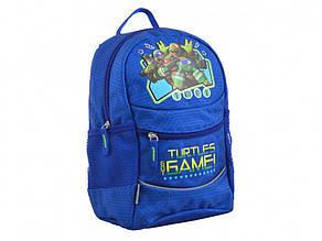 Рюкзак дошкільний 1 Bересня Turtles K-20 1 відділення, 3 кишені 29х22х15,5 см 555501