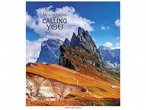 Зошит 48 аркушів клітинка Star Mountains are calling УФ-лак (10) (100) 048-3007 K