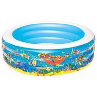 Дитячий надувний басейн Bestway 51122, 195х53 см