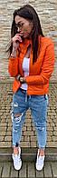 Куртка жіноча помаранчева SKL11-290581
