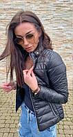 Куртка жіноча чорна SKL11-290582