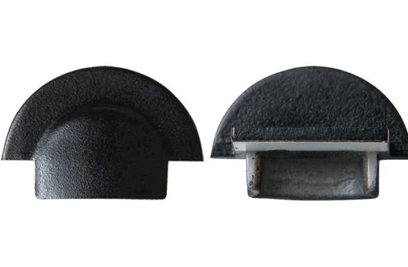 Торцева заглушка для врізного профілю LPV-7В (1шт) Код.59801
