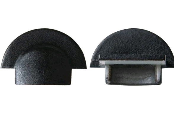 Торцевая заглушка для врезного профиля LPV-7В (1шт) Код.59801