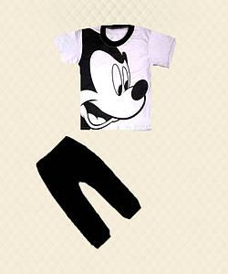 Костюм для мальчика Микки футболка+бриджи накат кулир/вискоза