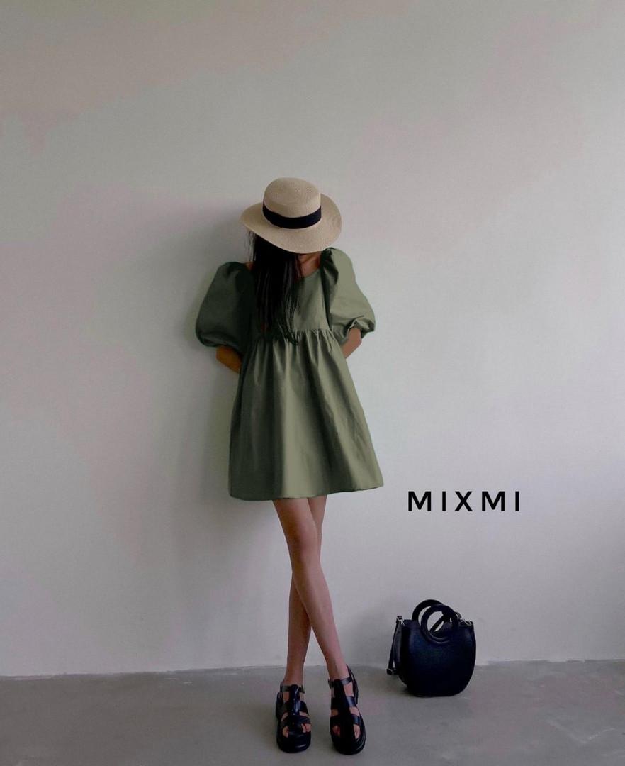 Женское платье, коттон, р-р 42-44; 44-46 (хаки)