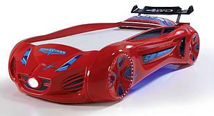 Кровать машинка Exit Toys Tesla Star Красная