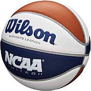Мяч баскетбольный Wilson NCAA Limited Basketball, Official - 29.5 оригинал размер 7 композитная кожа, фото 2